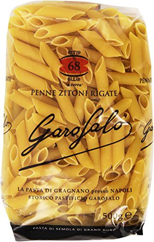 Penne zitoni rigate no. 68 - 500 gr.
