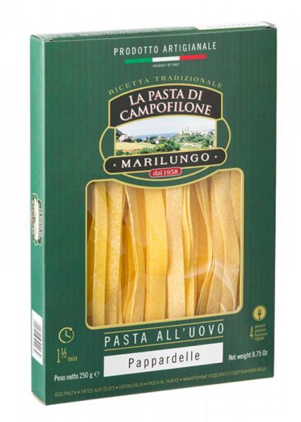 Pappardelle di pasta all'uovo di Campofilone - 250 gr.