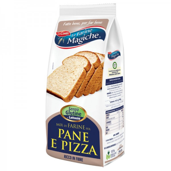 Gluten free baking mix for bread and pizza - 500 gr.