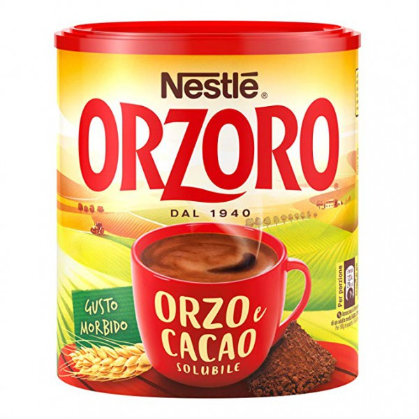 """Soluble barley and cocoa mix """"Orzoro"""" - 180 gr."""