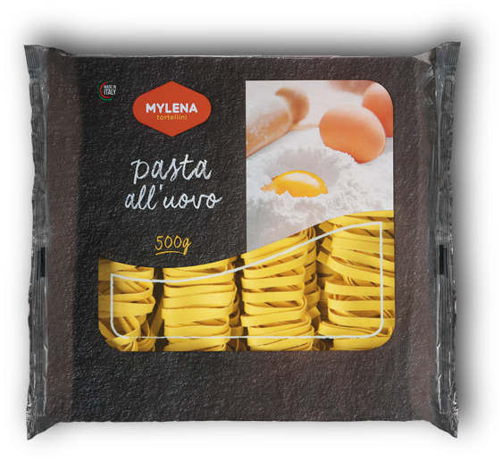 Egg tagliatelle, 5 mm. - 500 gr.