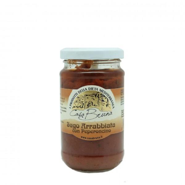 Arrabbiata sauce with hot chilli pepper - 180 gr.