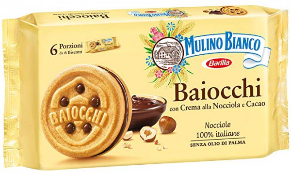 6-pack Baiocchi stuffed cookies - 336 gr.