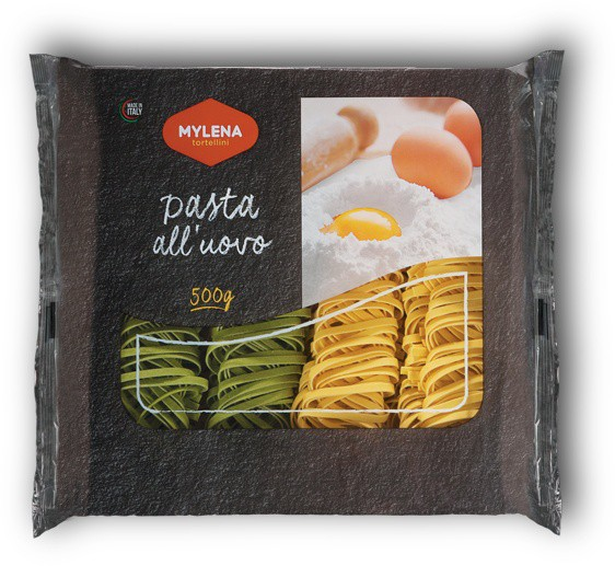 "Egg fettuccine ""Straw and Hay"" - 500 gr."