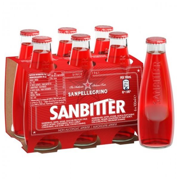 San Bittèr Rosso Aperitivo - 6 x 10 cl. pack