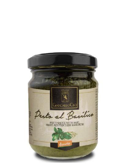 Organic Basil Pesto - 130 gr.