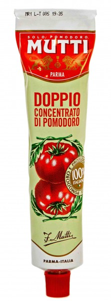 Double concentrated tomato paste - 130 gr.