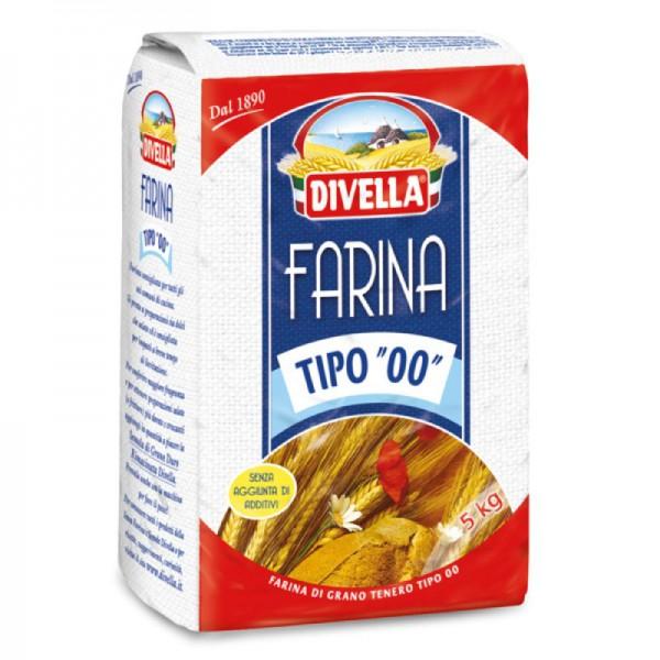 "Italian type ""00"" flour - 5 kg."