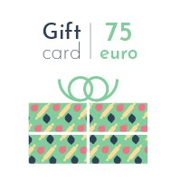 Digital gift card - 75 euro