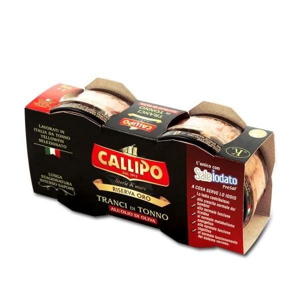 Yellowfin tuna in olive oil - 2 x 160 gr. pack