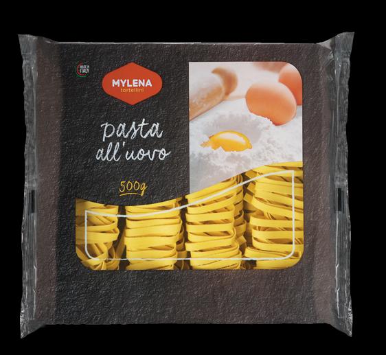 Egg tagliatelle, 7 mm. - 500 gr.