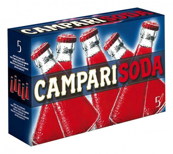 CampariSoda Aperitivo - 5 x 10 cl. pack