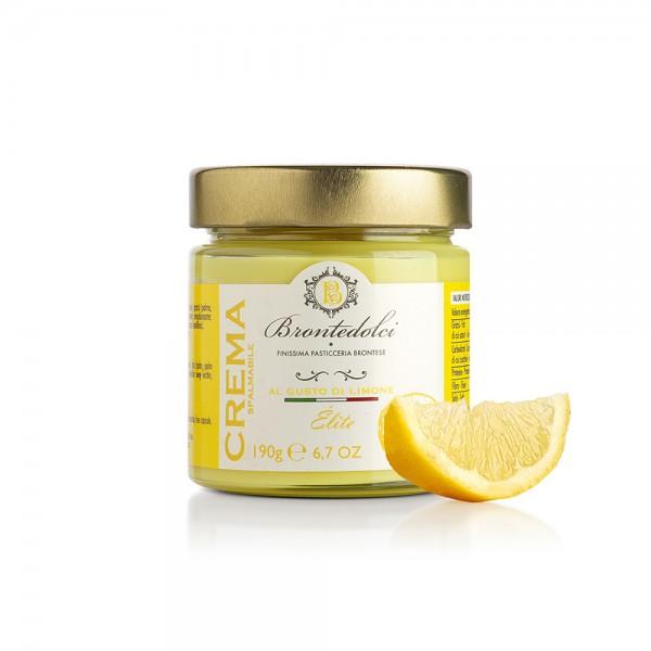 Lemon flavoured spreadable cream - 190 gr.