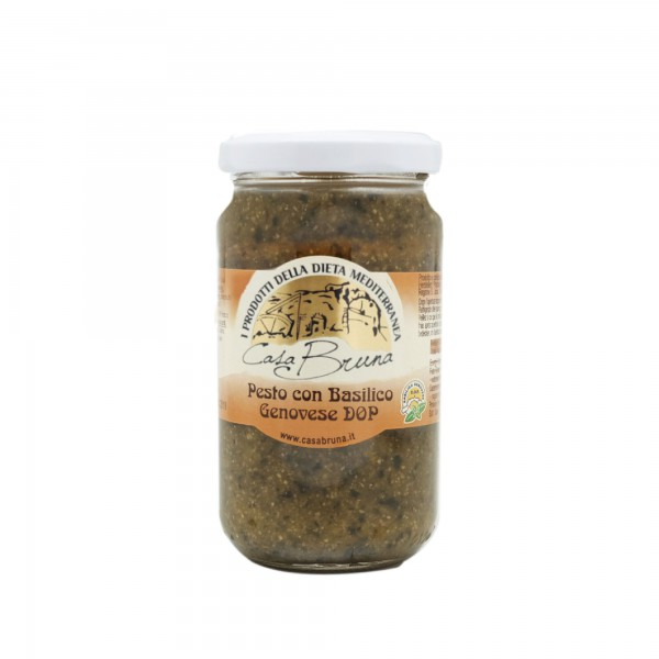 Pesto with PDO Genoese basil - 180 gr.