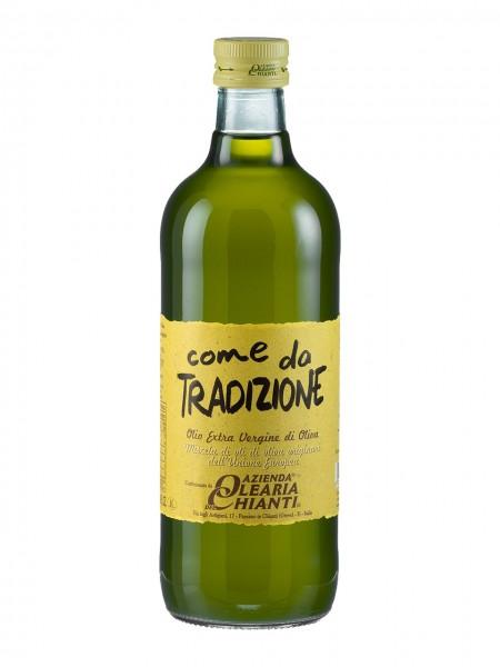 """Unfiltered extra virgin olive oil """"Come da Tradizione"""" - 1 lt."""