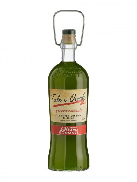 """Unfiltered extra virgin olive oil """"Tale e quale"""" - 1 lt."""
