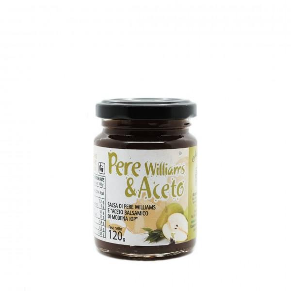 Salsa agrodolce Pere e Aceto Balsamico IGP
