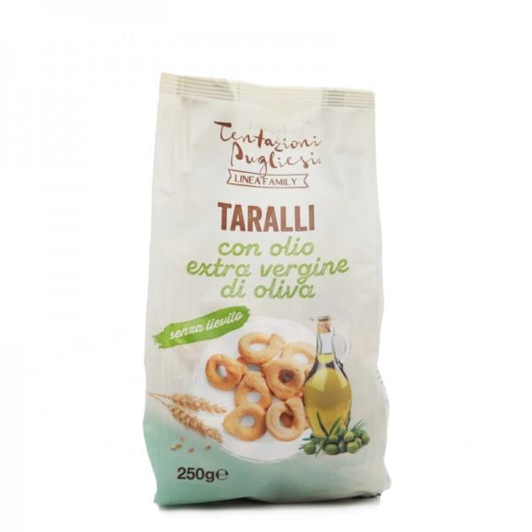 Taralli with extra virgin olive oil - 250 gr.