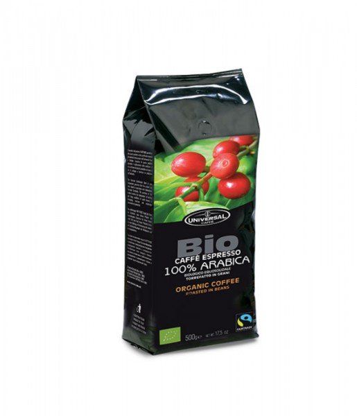 Caffe in grani Fairtrade BIO - 500 gr.