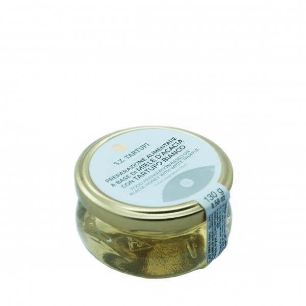 Acacia honey with white truffle - 130 gr.