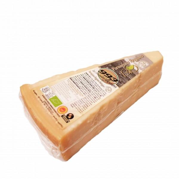 Organic PDO Parmigiano Reggiano, 24 months - approx 500 gr.