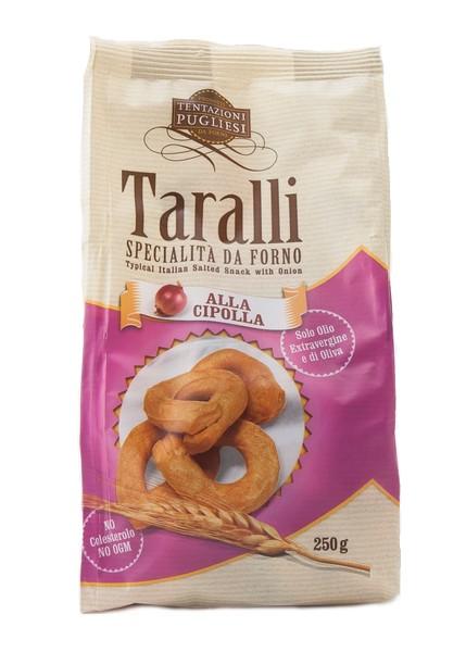Taralli with onions - 250 gr.
