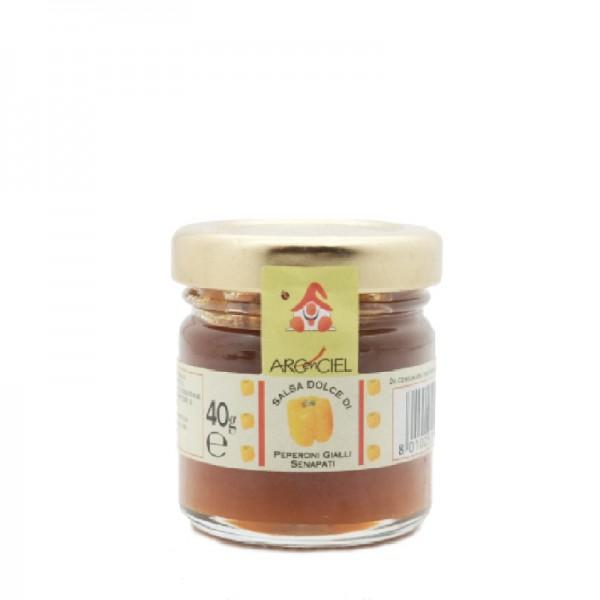 Salsa dolce di Peperoni Gialli Senapati 40 gr.
