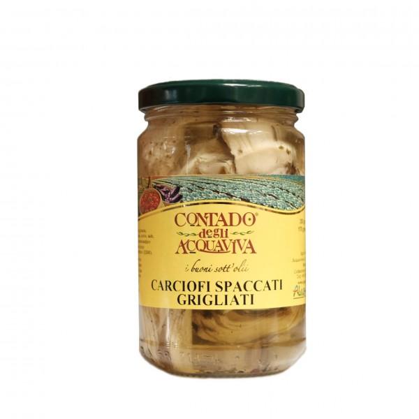 Carciofi Spaccati Grigliati - 280 gr
