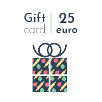 Digital gift card - 25 euro