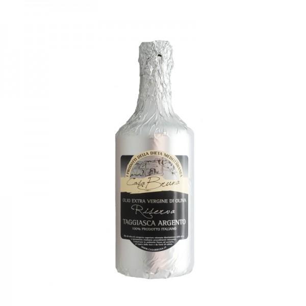 "Extra virgin olive oil Riserva, ""Taggiasca Argento"" - 0,75 lt."