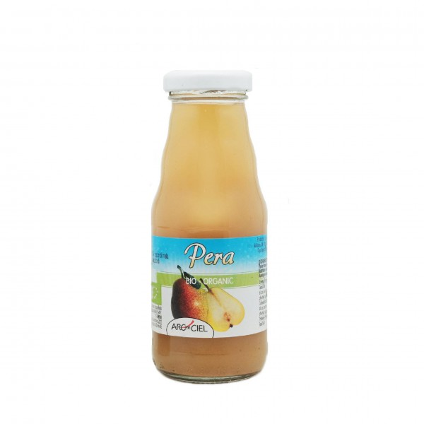 Organic pear pulp juice - 200 ml.