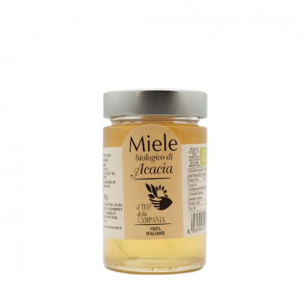 Organic acacia honey - 250 gr.