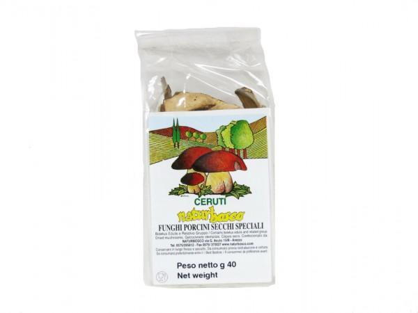 Funghi Porcini secchi 40 gr.
