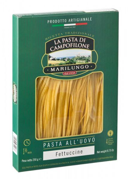 Fettucine di pasta all'uovo di Campofilone - 250 gr.