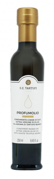 "White truffle EVO oil ""Profumolio"" - 0,25 lt"