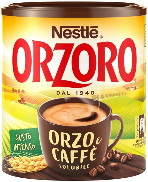 "Soluble barley and coffee mix ""Orzoro"" - 120 gr."
