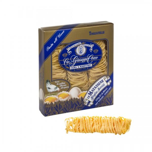 Tagliatelle all'uovo in matassine n. 13 - 250 gr.