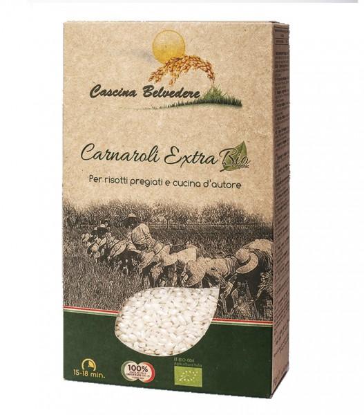 Organic Carnaroli rice - 500 gr.
