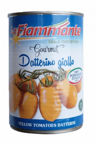 """Datterino giallo"" yellow tomatoes - 400 gr."