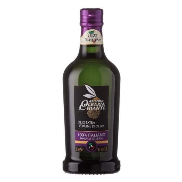 Extra virgin olive oil from 100% Italian olives - 0,5 lt.