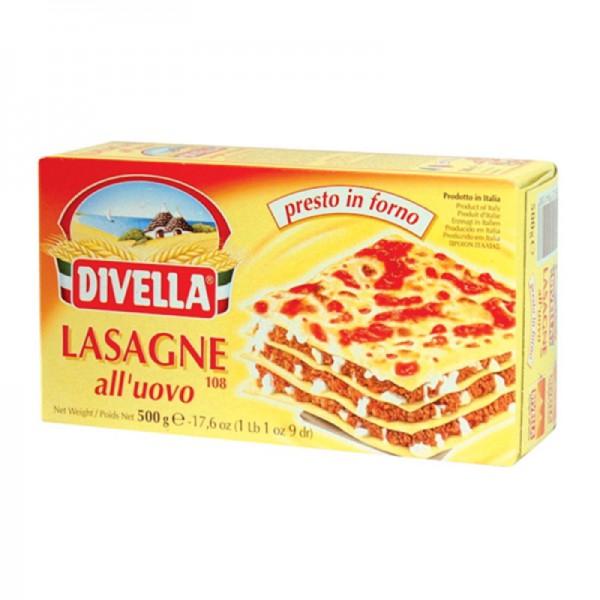 Egg lasagna n. 108 - 500 gr.