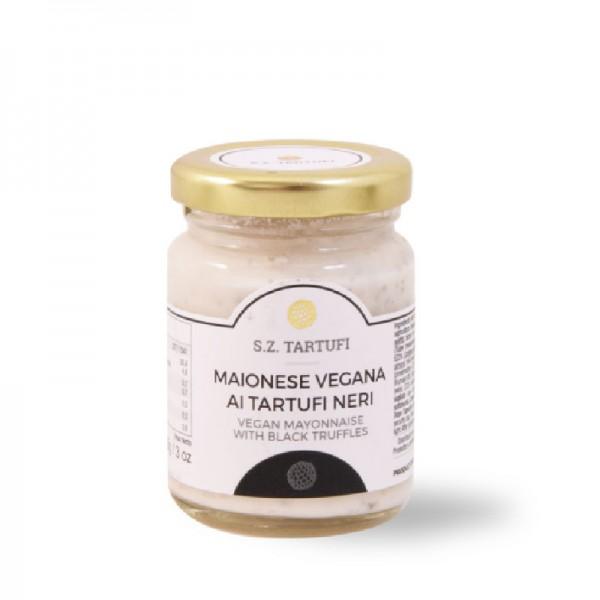 Black truffle mayonnaise, vegan - 85 gr.