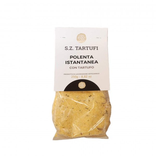 Instant polenta with truffle - 250 gr.
