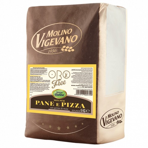 Gluten free pizza and bread mix - 5 kg.