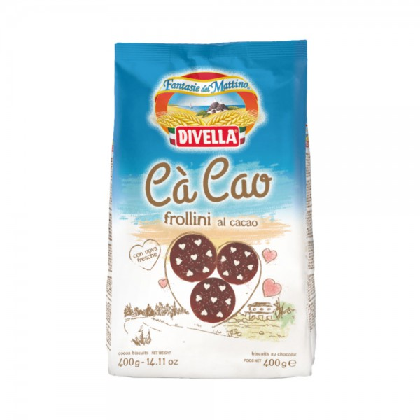Cà Cao frollini al cacao - 400 gr.