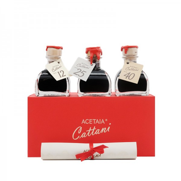 Aceto Balsamico DOP 3 x 50 ml - 12y 25y 40y