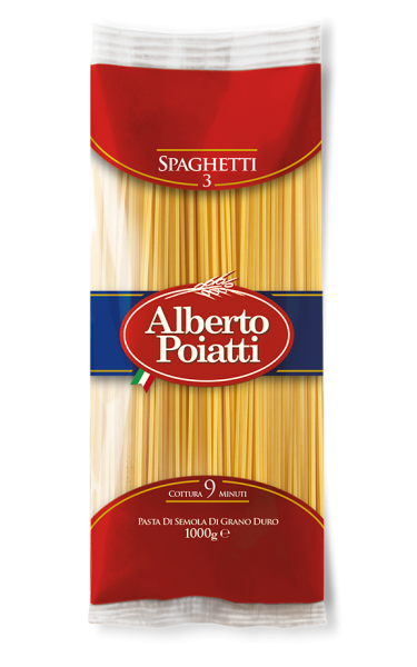 Spaghetti no. 3 - 1 kg. family pack