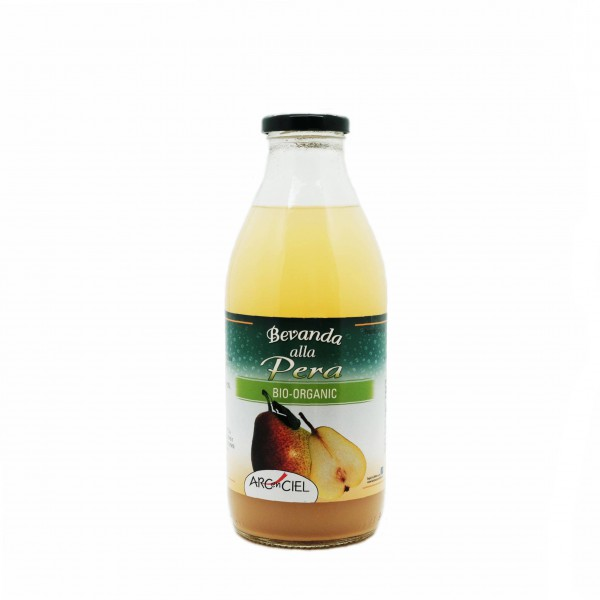 Organic pear pulp juice - 750 ml