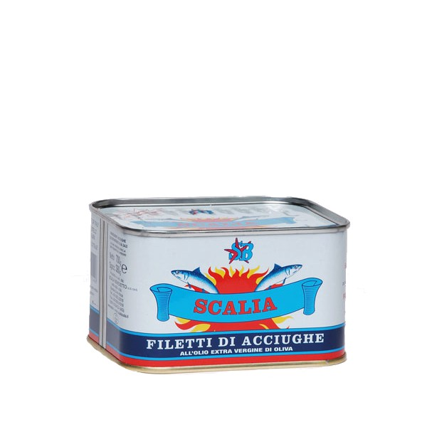 Anchovy fillets - 700 gr.