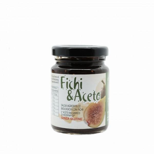 Salsa agrodolce BIO Fichi e Aceto Balsamico IGP